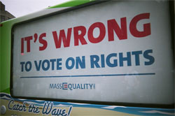 it's wrong to vote on rights