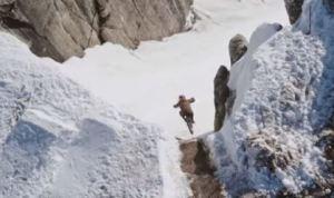First Ever Mountain Bike Descent of Corbet's Couloir