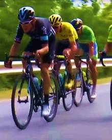 Horse power! Sagan, Froome, Bodnar & Thomas thrilling breakaway