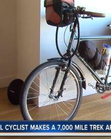 Local cyclist makes 7,000-mile trek around US