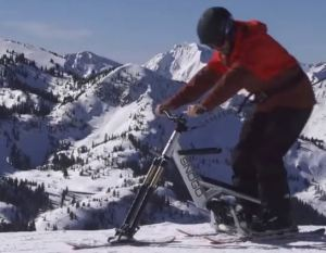 This Bike Combines Skiing and Cycling