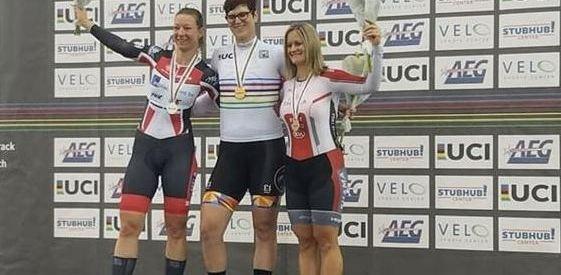 Transgender woman wins female cycling world championship
