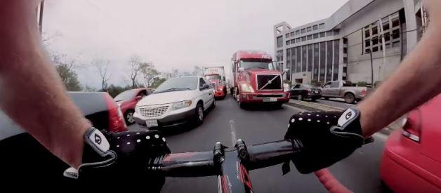 Crazy Fixed Cyclist