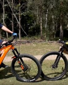 World Champion vs Electric Bike