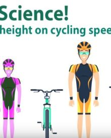 How height affects your cycling /