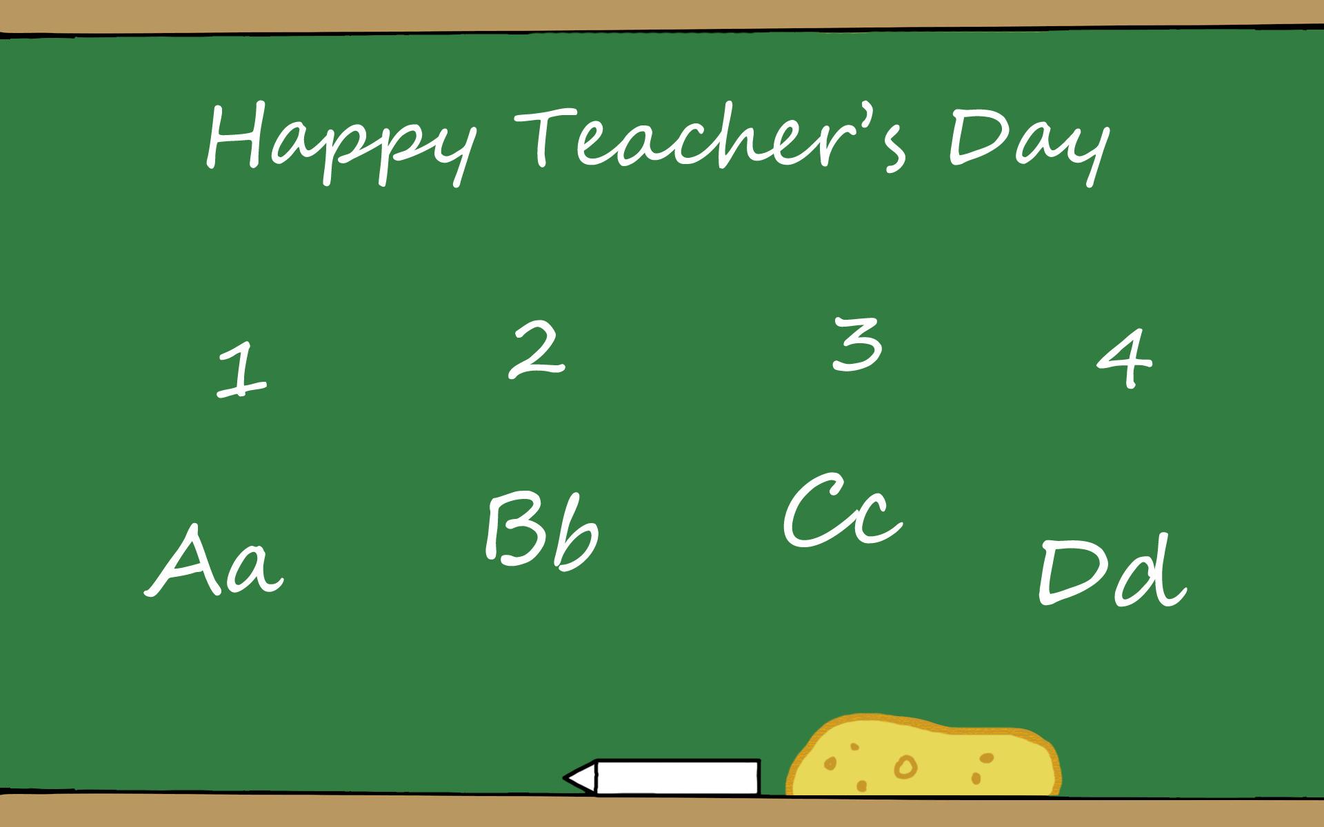 TEACHERS DAY a way to show gratitude to teachers