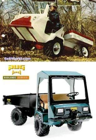Utv Off Road Utility Vehicles Pug Parts Side By