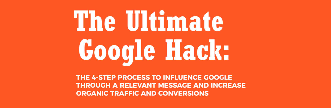 How To Get Organic Search Traffic With The Ultimate Google Hack