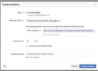 increase facebook traffic