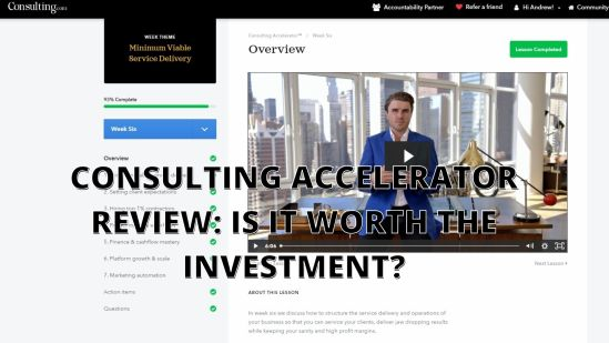 consulting accelerator review