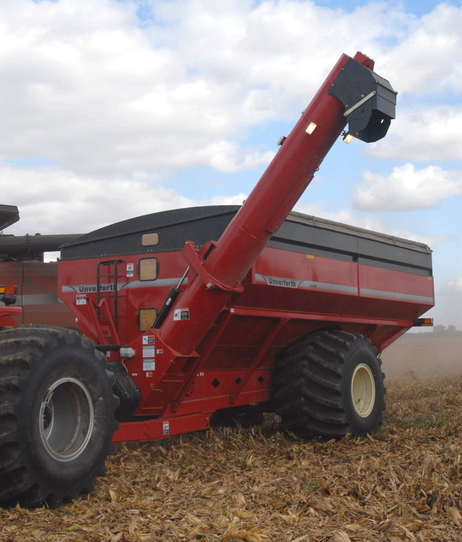 medium resolution of wheels double auger grain cart