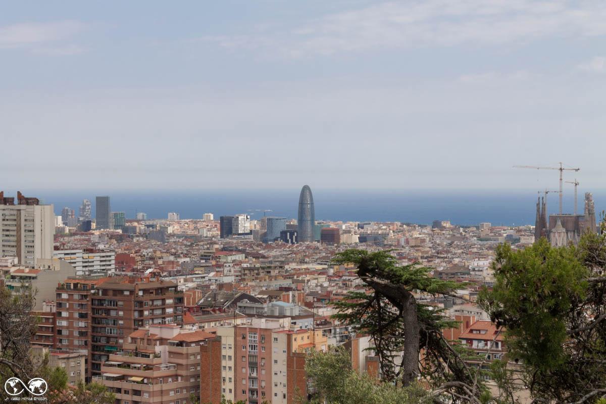 Barcellona vista da Parc Guell