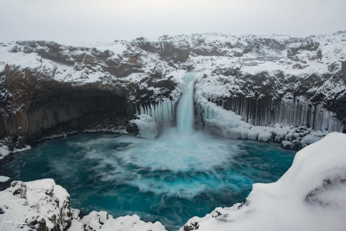 Cascate in Islanda: Aldeyjarfoss