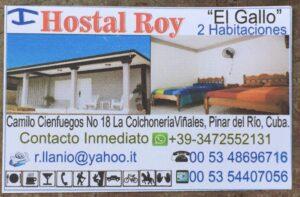 Vinales - Contatti Casa El Gallo