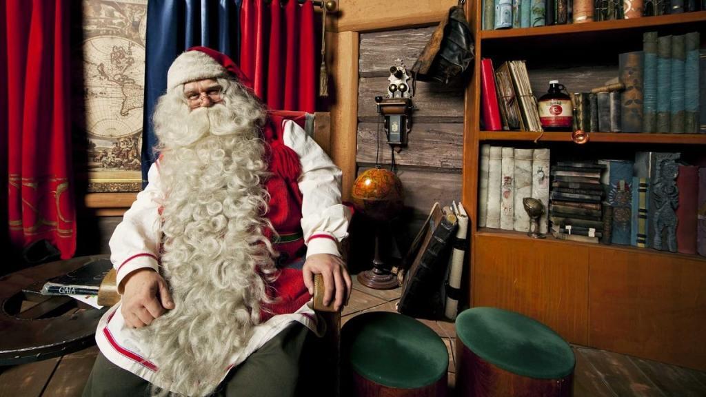 Babbo Natale alle isole Svalbard