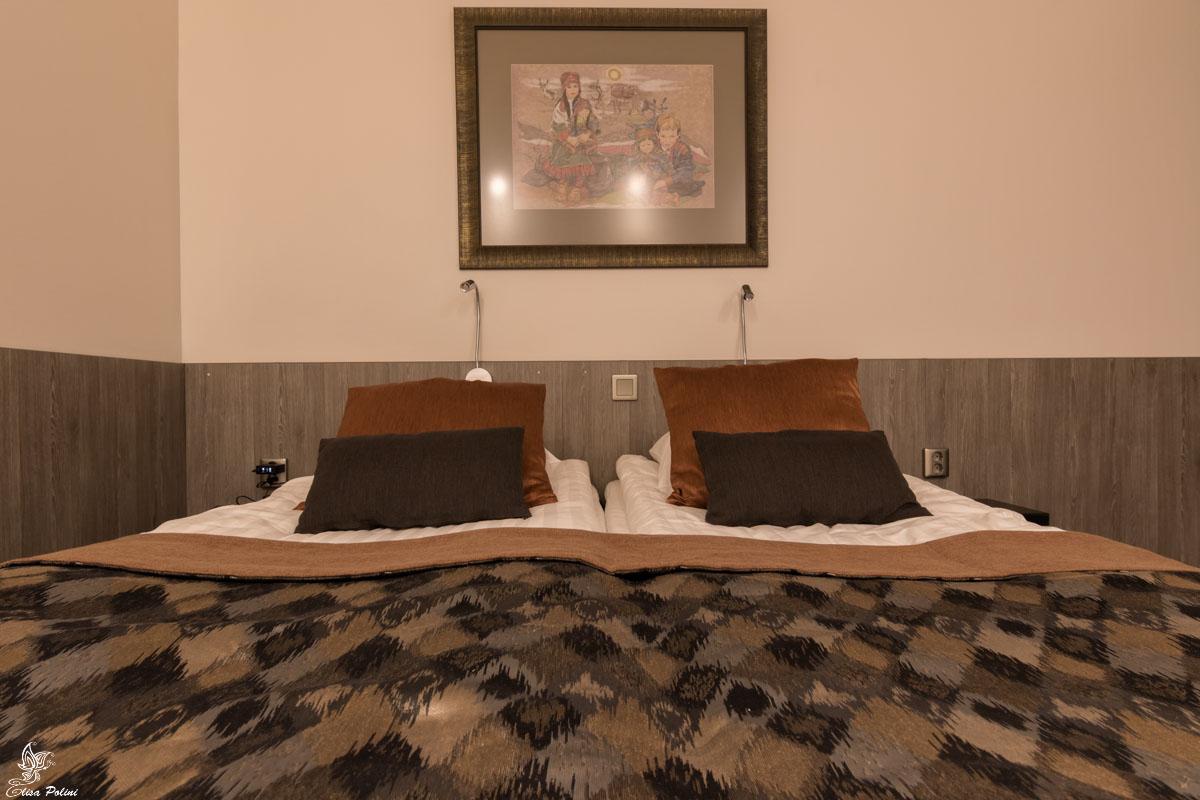 Lapponia in autunno: Hotel Inari