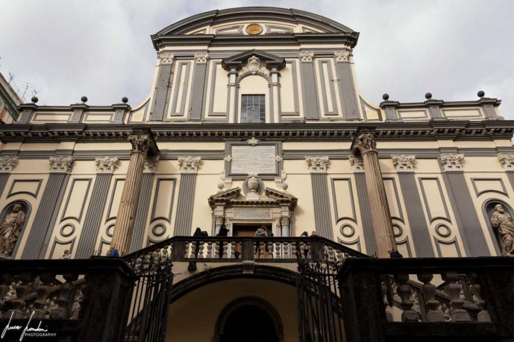Napoli: Basilica di San Paolo Maggiore