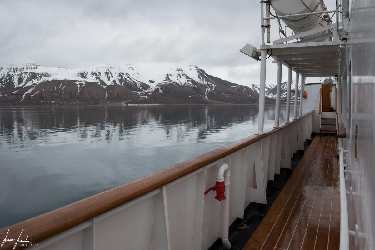 Svalbard: La MS Nordstjernen