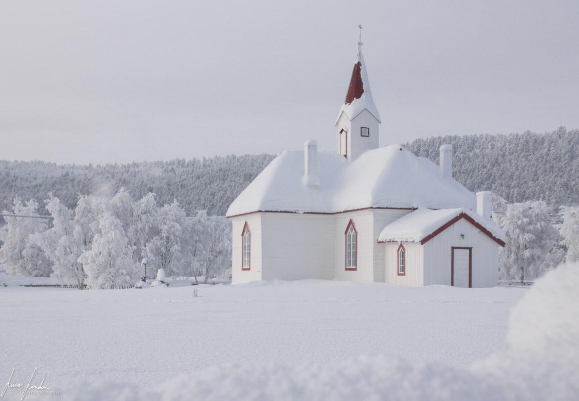 Gamlekirke, la vecchia chiesa di Karasjok