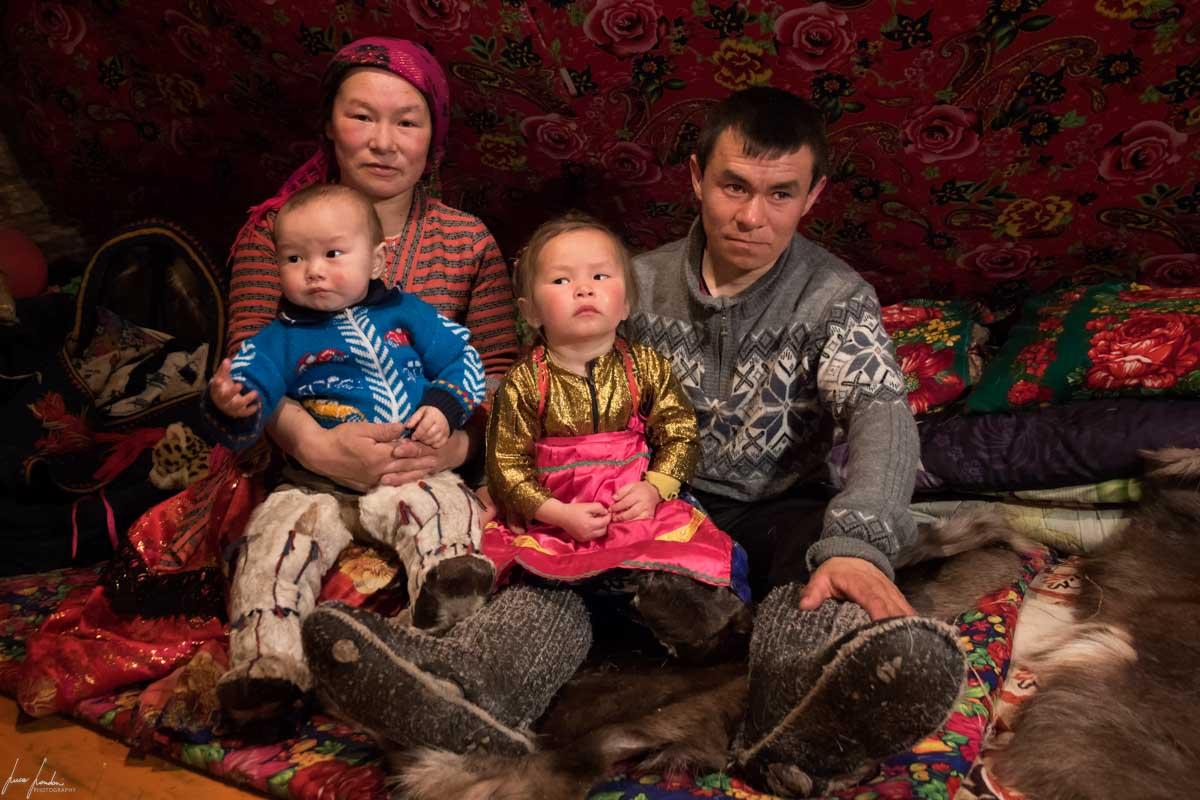 Nenets della Siberia: la famiglia di Vitali