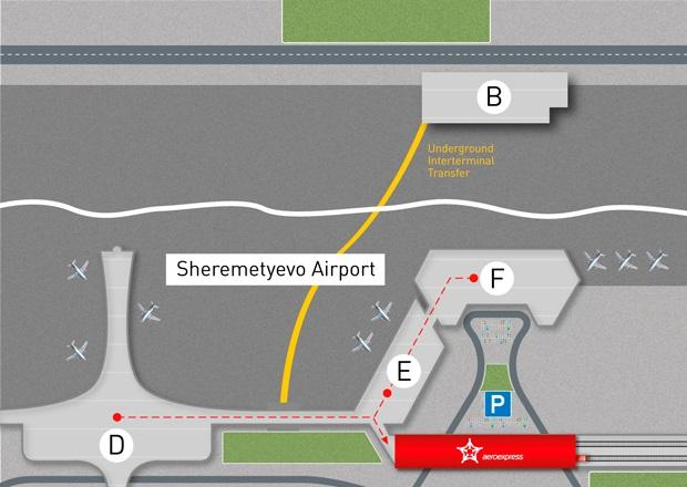 Dall'aeroporto Sheremetyevo alla stazione Belorussky