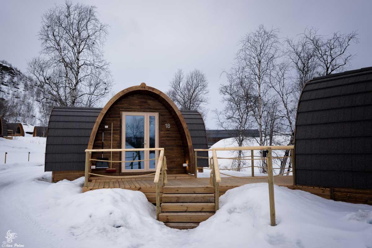 Gamma Northern Lights Cabin - SnowHotel Kirkenes