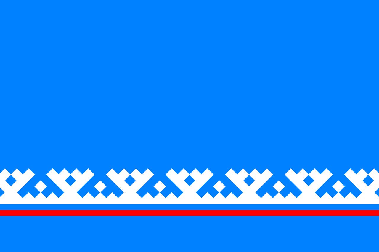 Bandiera del circondario autonomo Yamalo-Nenets