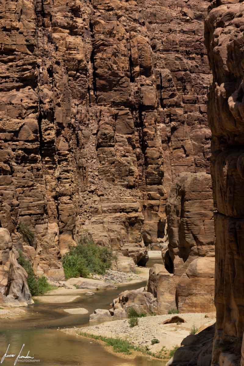 Itinerario in Giordania: Wadi Mujib