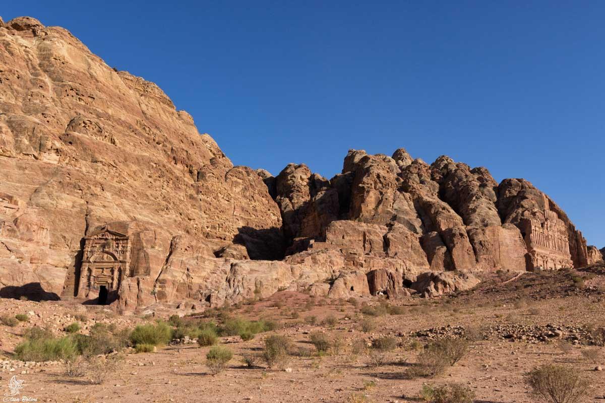 Petra: vista sulla Tomba di Sesto Fiorentino