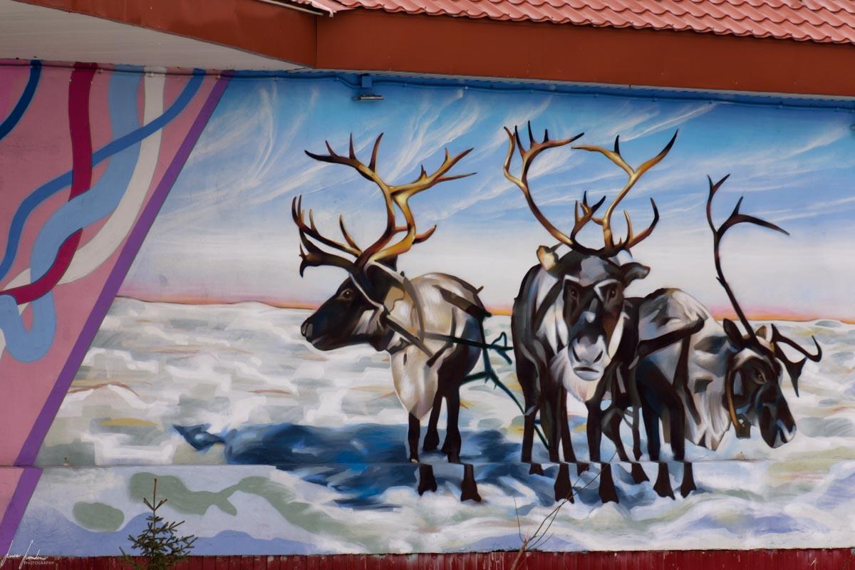 Street art di Salekhard