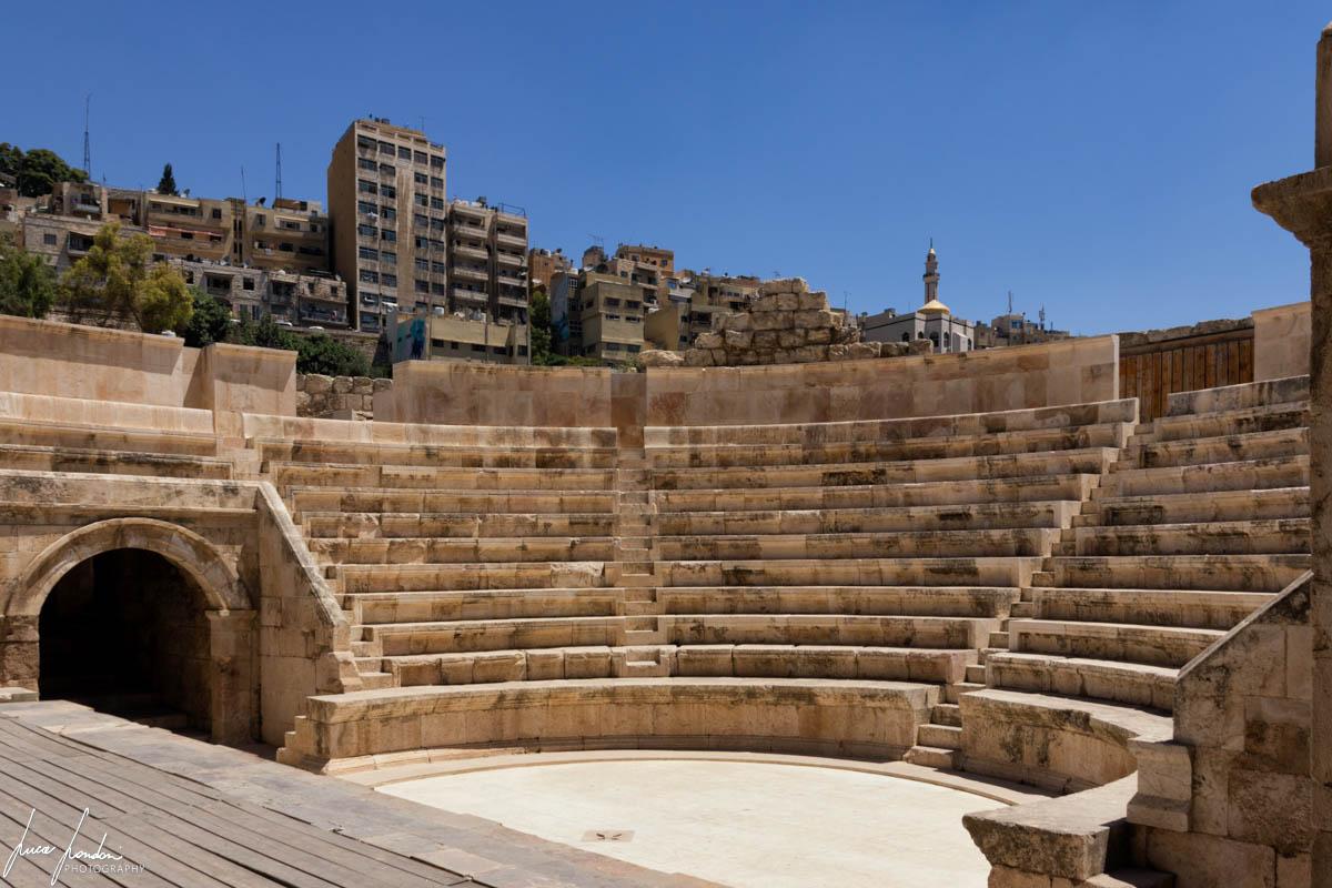 Itinerario in Giordania: Tempio di Amman
