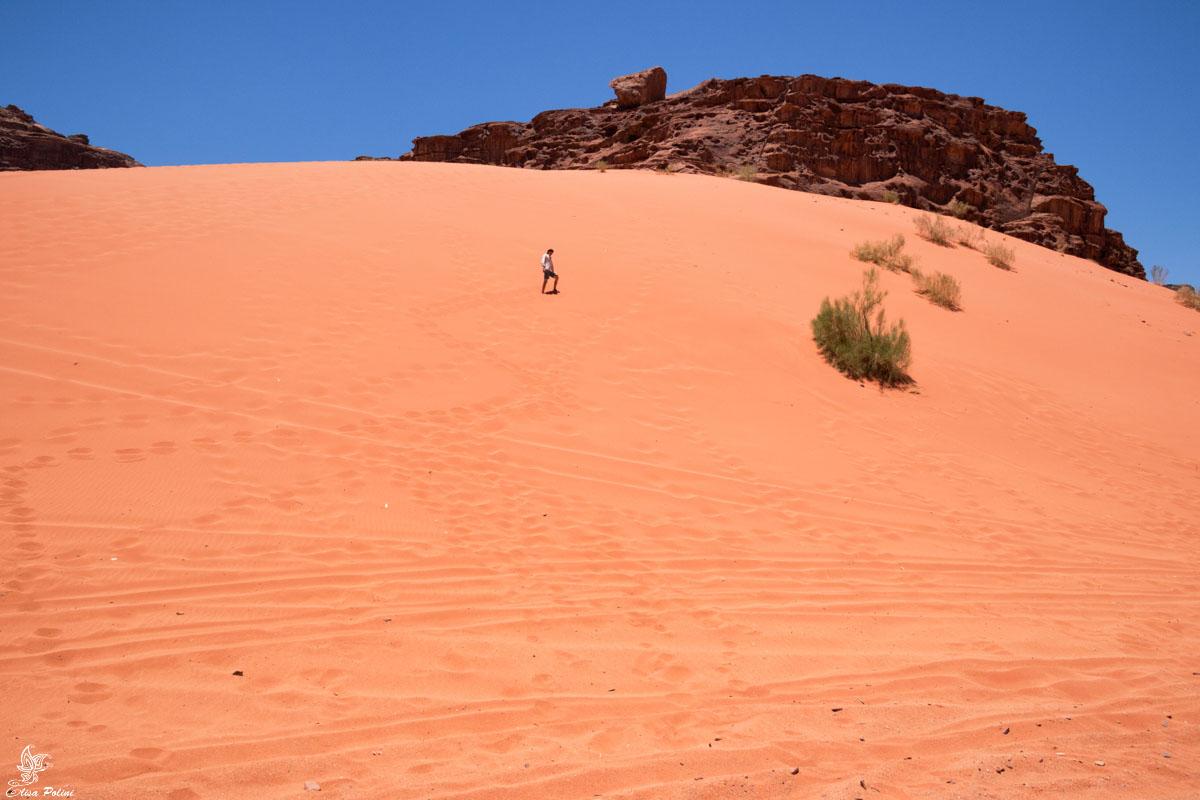 Wadi Rum: dune di sabbia