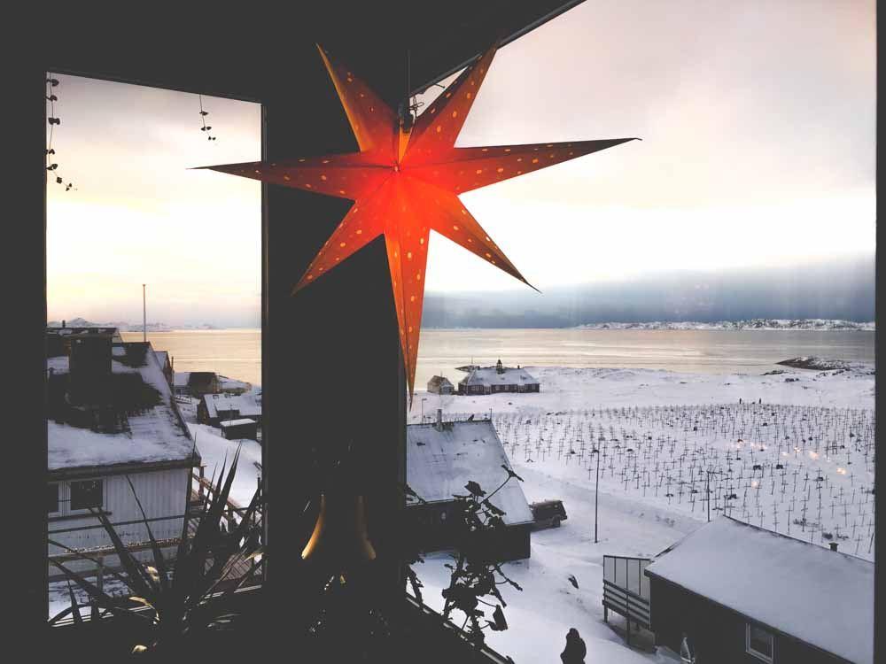 Natale in Groenlandia: la tradizionale Stella di Natale