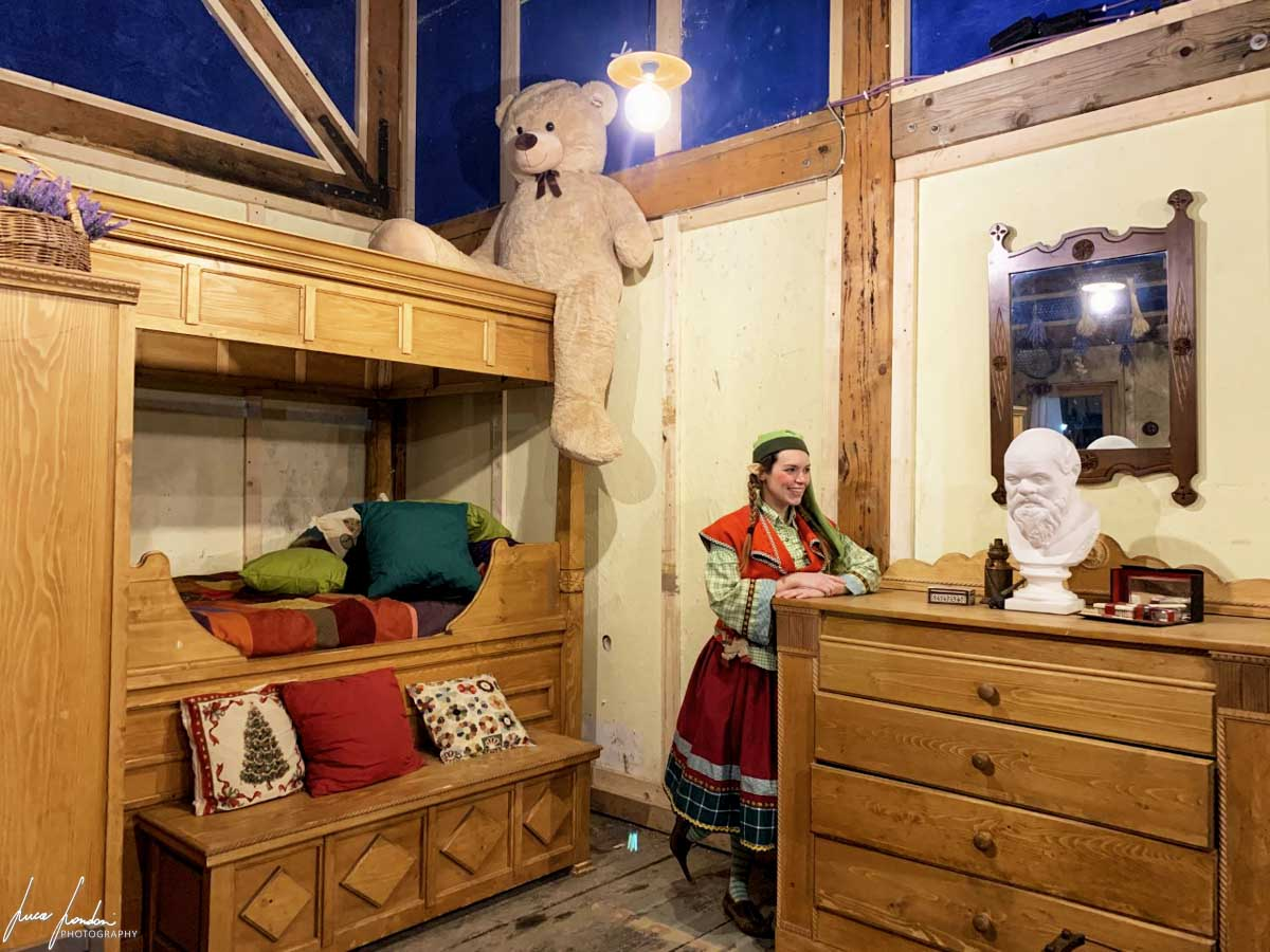 Villaggio di Natale: la Casa di Babbo Natale