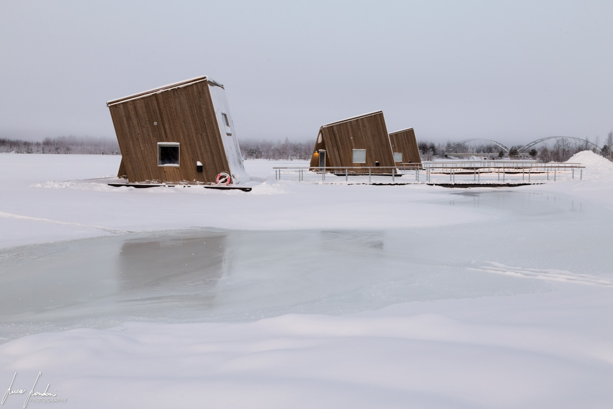 Arctic Bath: alcune river cabins