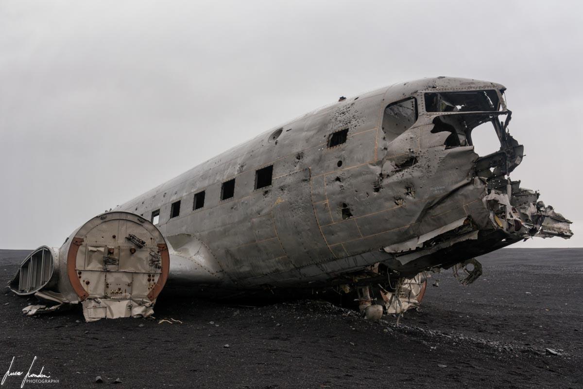 Itinerario in Islanda: Resti del DC-3