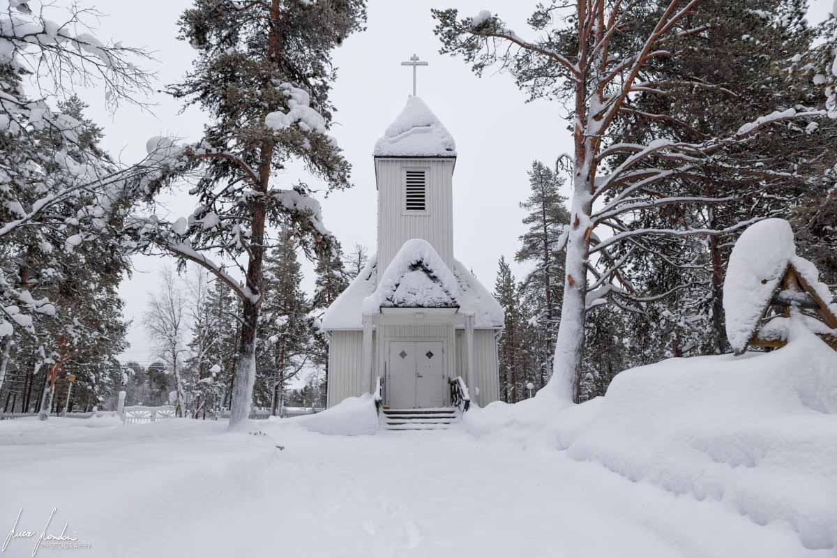 Villaggi Sami: Chiesa di Sevettijarvi