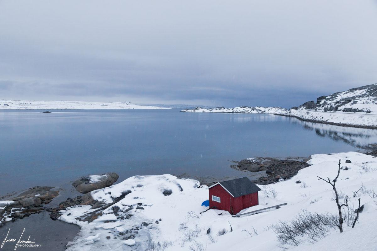 Paesaggio lungo il Varangerfjorden