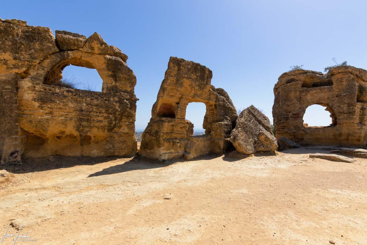 Valle dei Templi: Antiche Fortificazioni Greche