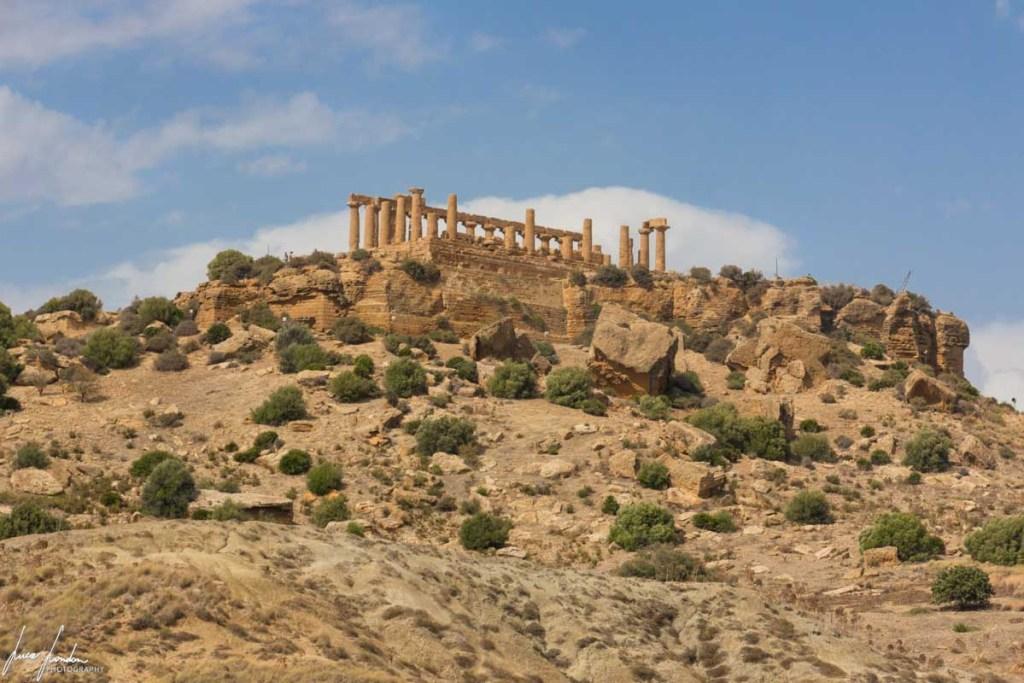 Valle dei Templi: Panoramica del Tempio di Giunone
