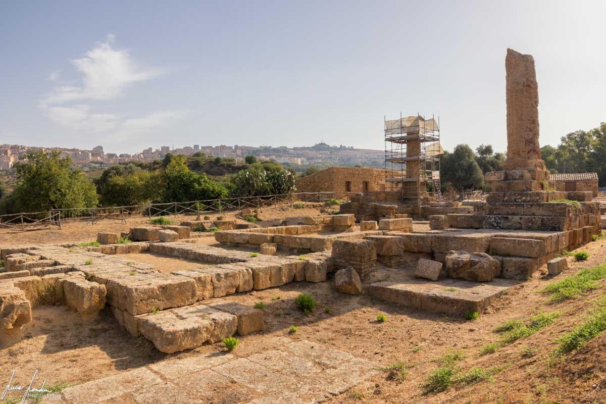 Valle dei Templi: Tempio di Vulcano