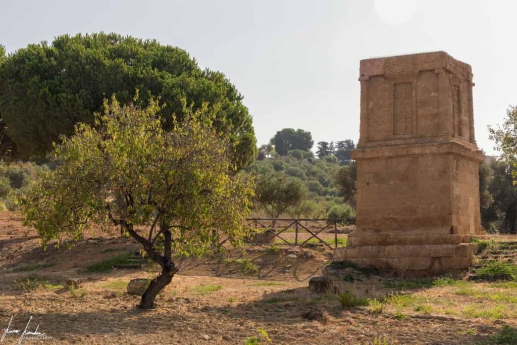 Valle dei Templi: Tomba di Terone