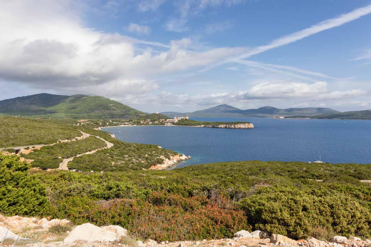 Panorama visto da Capo Caccia