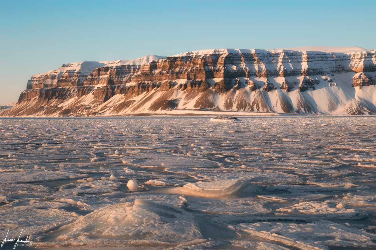 Curiosità sui ghiacciai: Mare ghiacciato alle Svalbard