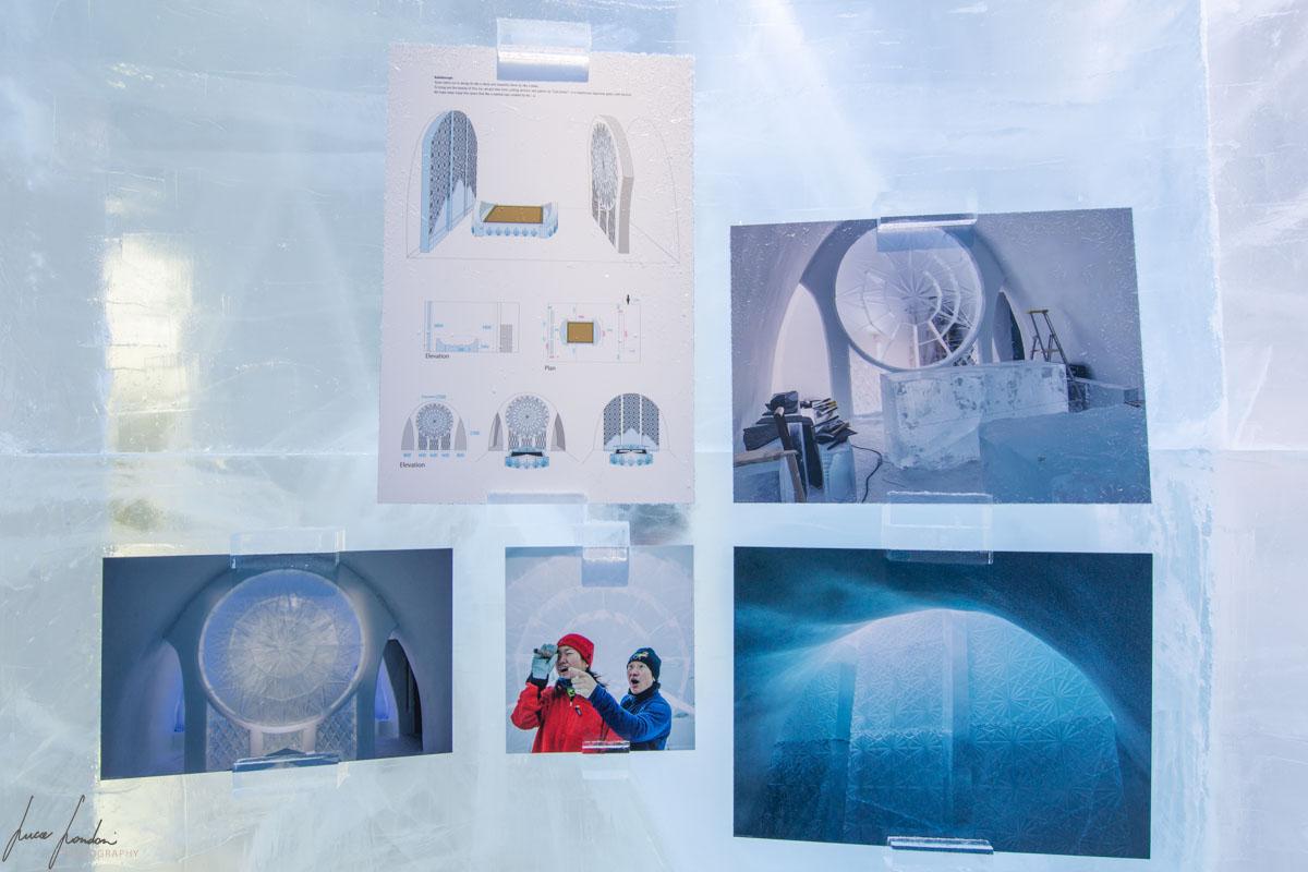 IceHotel di Jukkasjarvi: come si costruisce