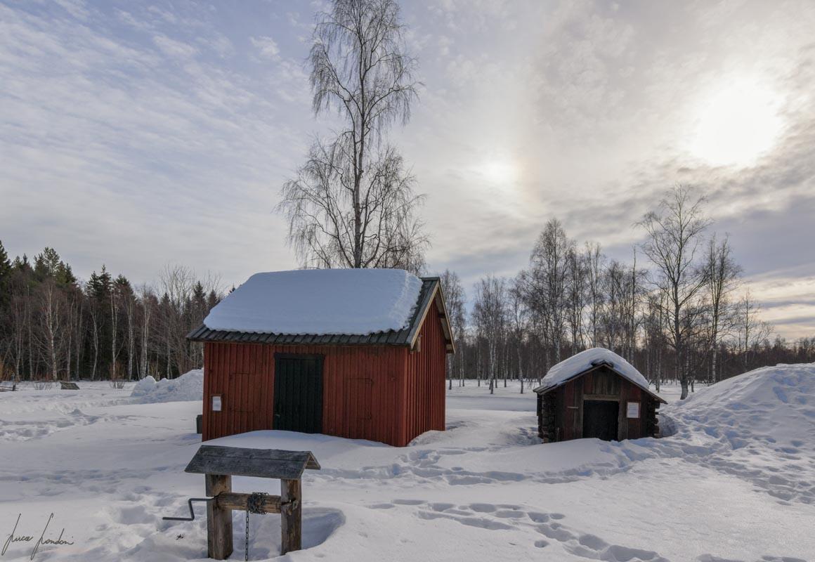 Gammelstad: Hagnan Open Air Museum