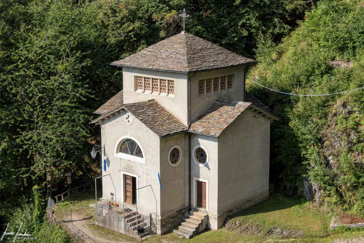 Monteviasco: Santuario di Nostra Signora della Serta