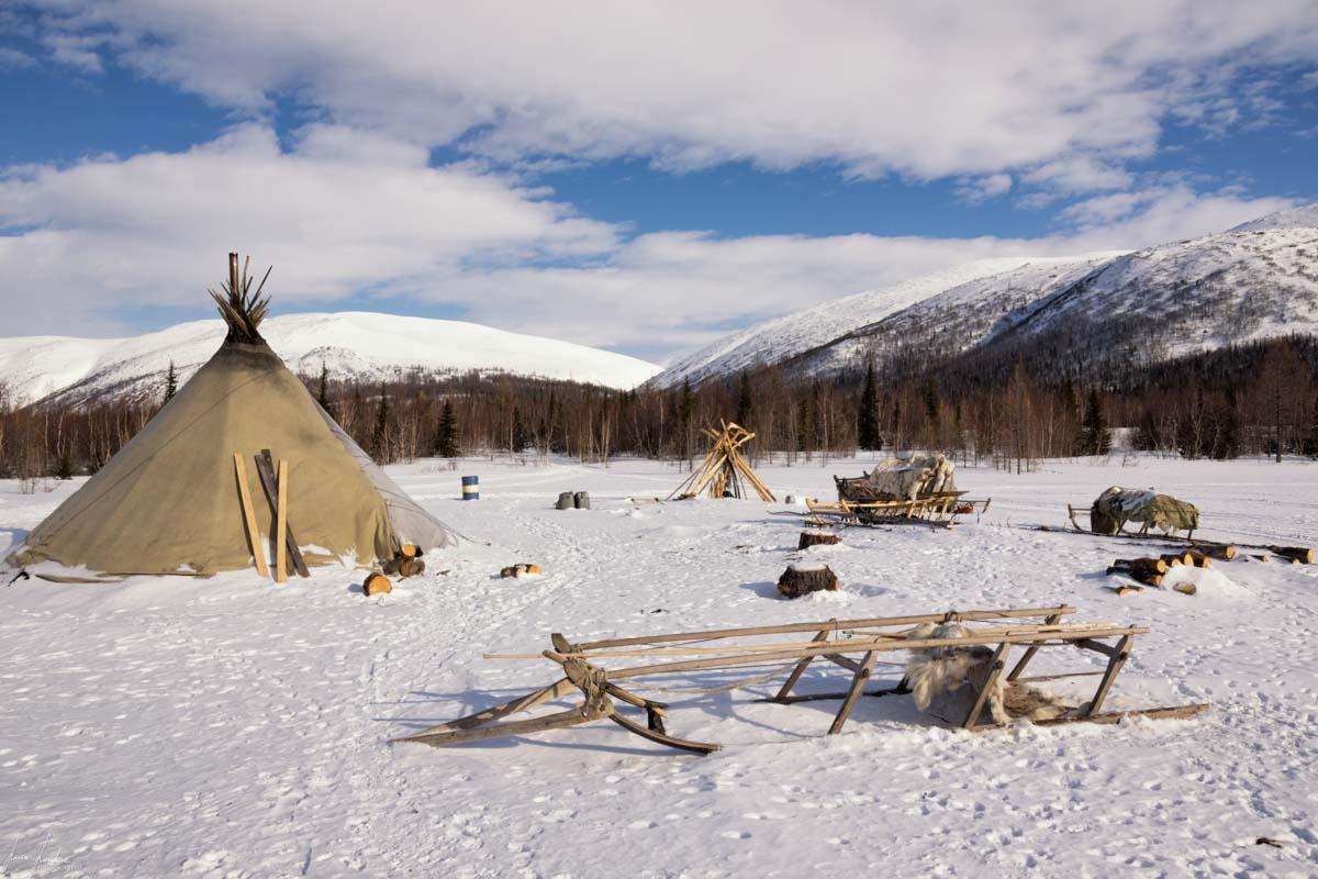 Russia: accampamento dei Nenets