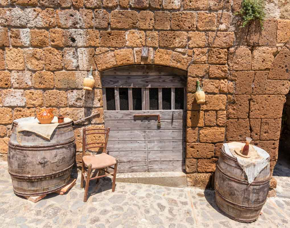 Le antiche stalle del Castello di Celleno