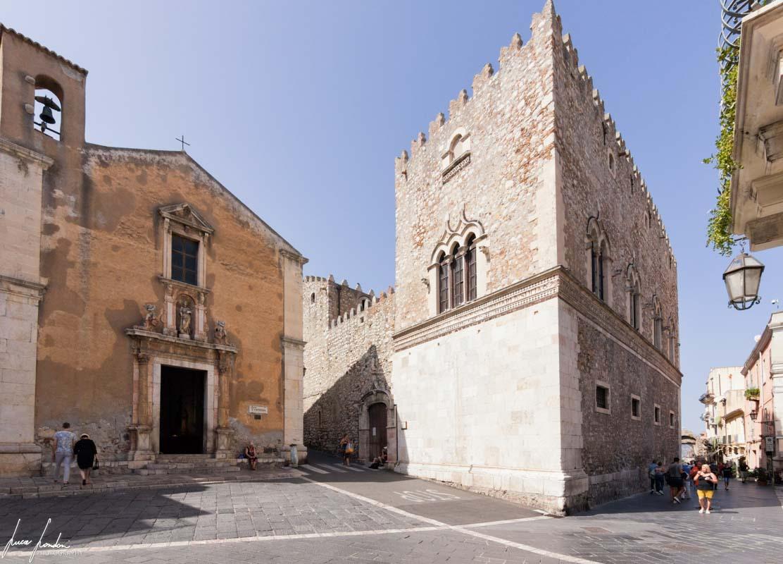 Chiesa di Santa Caterina d'Alessandria e Palazzo Corvaja di Taormina